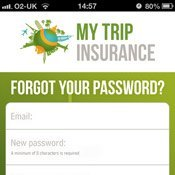 Forgot your My Trip password?