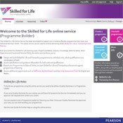 Skilled for Life home page