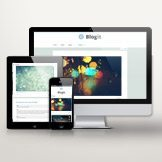 Blogit is responsive to all screen widths